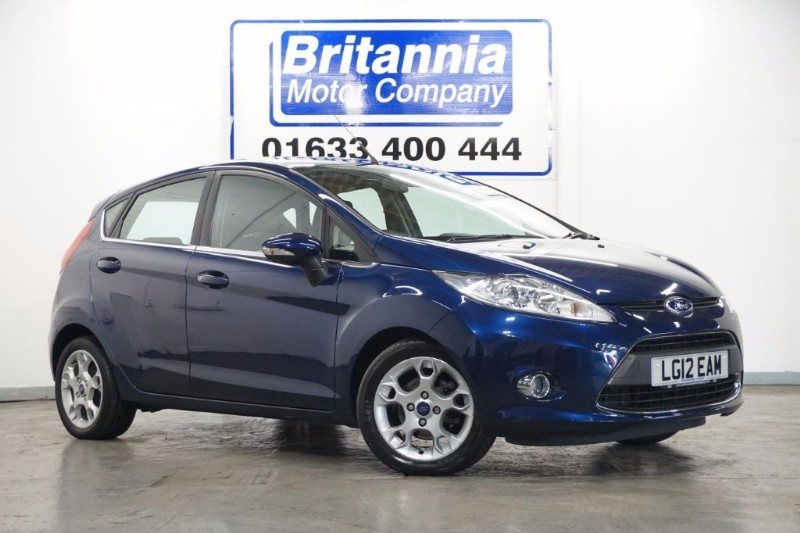 used Ford Fiesta ZETEC CLIMATE 5 DOOR AUTOMATIC in newport-south-wales