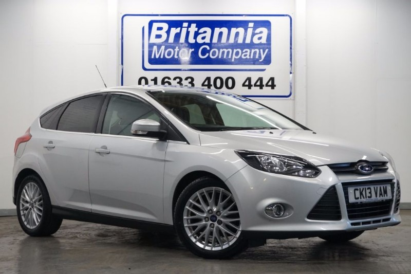used Ford Focus ZETEC CLIMATE ECOBOOST APPEARANCE PACK in newport-south-wales