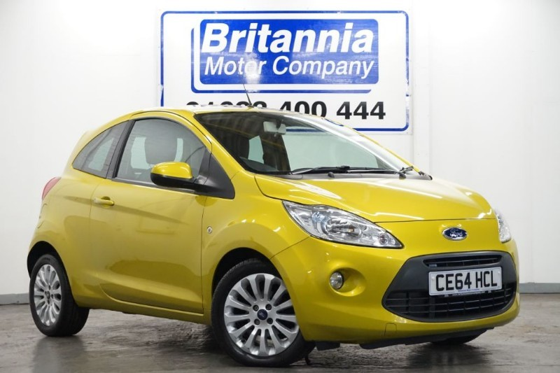 used Ford KA ZETEC CLIMATE HIGH SPEC in newport-south-wales