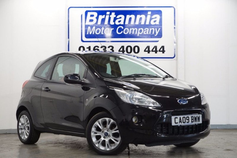 used Ford KA ZETEC CLIMATE 3 DOOR NEW MODEL in newport-south-wales
