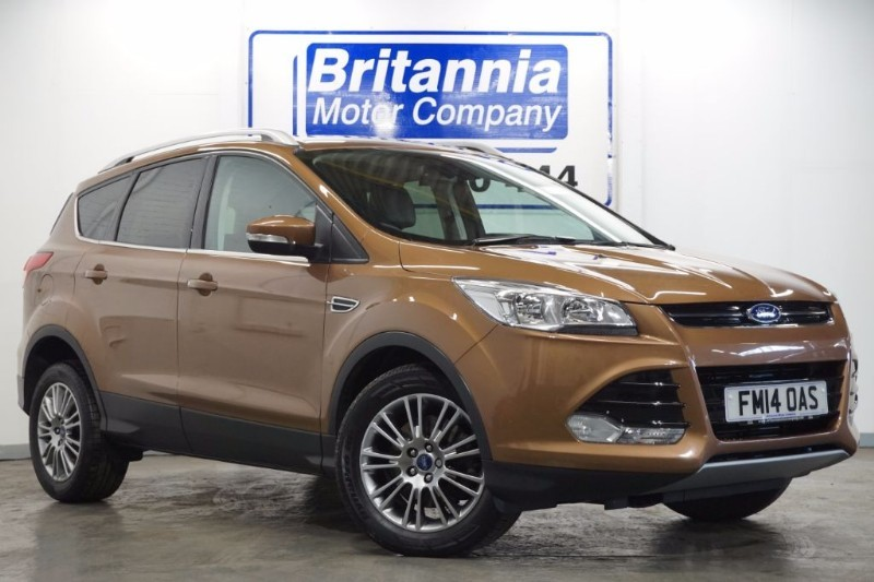 used Ford Kuga TDCI DIESEL TITANIUM HIGH SPEC  in newport-south-wales