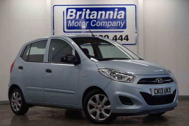 used Hyundai i10 CLASSIC 5 DOOR in newport-south-wales