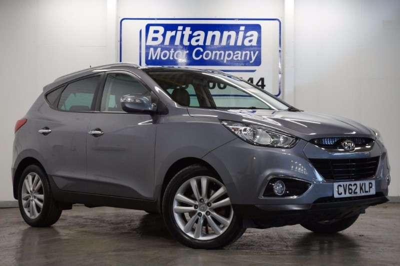 used Hyundai ix35 CRDI DIESEL PREMIUM 4WD AUTOMATIC TOP SPEC in newport-south-wales