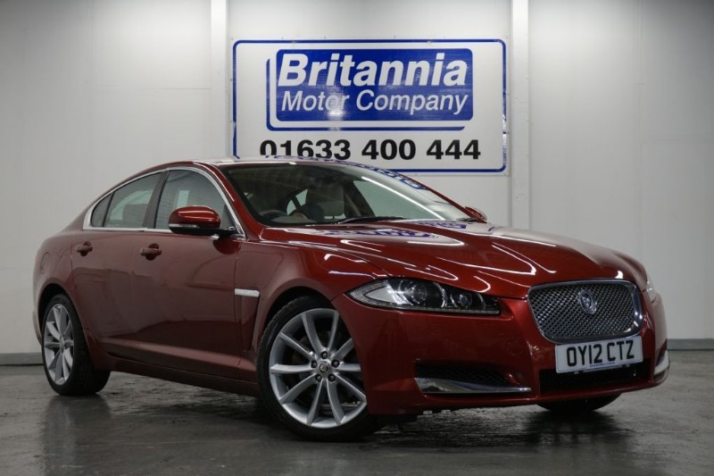 used Jaguar XF DIESEL V6 PREMIUM LUXURY HUGE SPEC in newport-south-wales