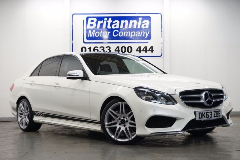 used Mercedes E350 DIESEL BLUETEC AMG SPORT HUGE SPEC ! in newport-south-wales