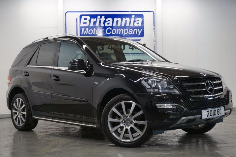 used Mercedes ML300 CDI DIESEL BLUEEFFICIENCY GRAND SPECIAL EDITION in newport-south-wales