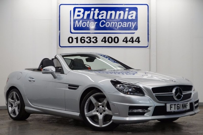 used Mercedes SLK 200 BLUEEFFICIENCY AMG SPORT SPECIAL EDITION 125 in newport-south-wales