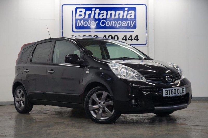 used Nissan Note N-TEC SPECIAL EDITION in newport-south-wales