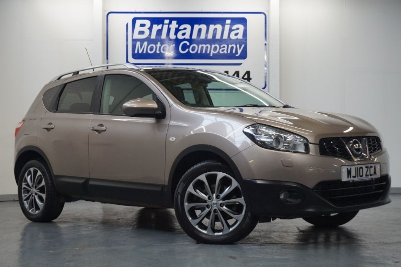 used Nissan Qashqai DCI DIESEL TEKNA 4WD TOP LUXURY SPEC  in newport-south-wales