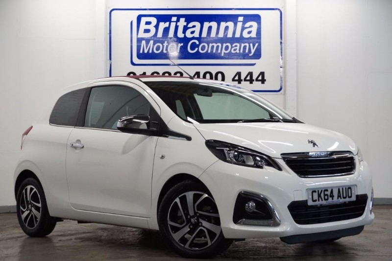 used Peugeot 108 ALLURE TOP HIGH SPEC  in newport-south-wales
