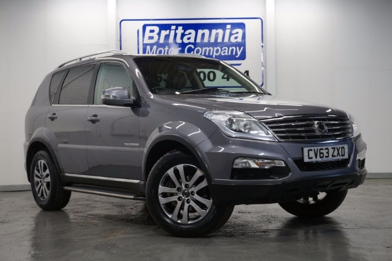 used Ssangyong Rexton DIESEL EX AUTOMATIC 4WD TOP SPEC in newport-south-wales