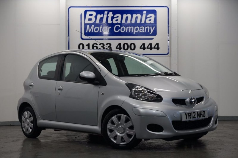 used Toyota Aygo VVT-I ICE SPECIAL EDITION 5 DOOR in newport-south-wales