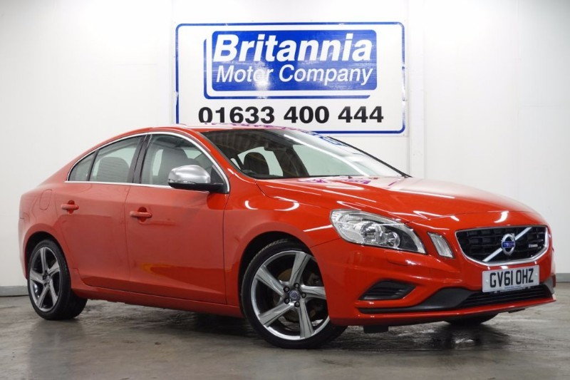 used Volvo S60 DRIVE DIESEL R-DESIGN S/S HUGH SPEC ! in newport-south-wales