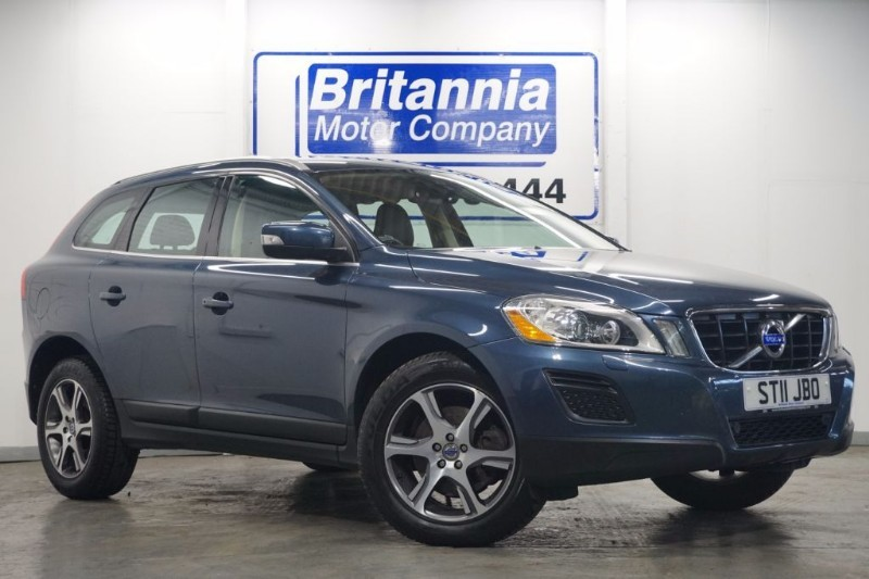 used Volvo XC60 D5 DIESEL SE LUX AUTOMATIC AWD in newport-south-wales