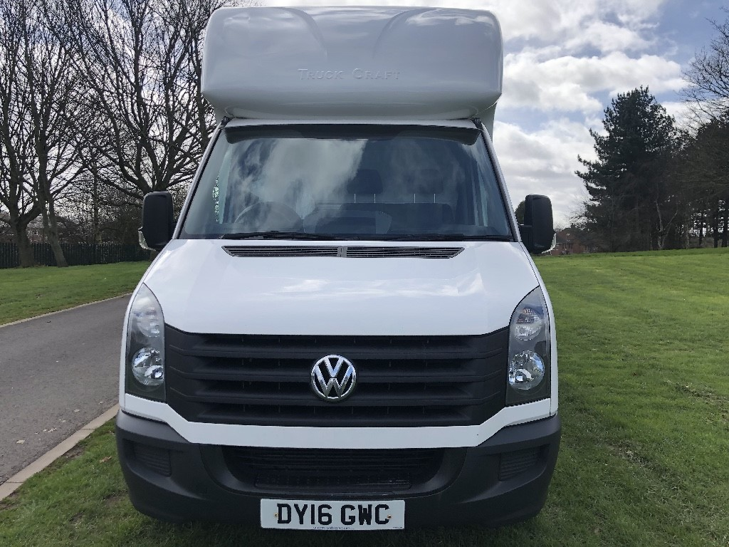 38c485fb2e Used VW Crafter CR35 3.5T 2.0Tdi 136ps 14ft Luton Van Tail Lift ...