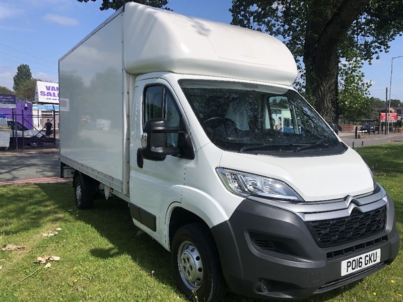 used Citroen Relay 3.5T 130ps L3 Lwb 14ft Luton Van with Tail Lift in walsall