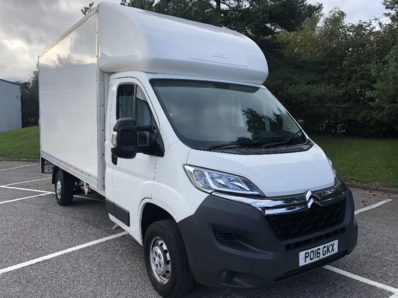 used Citroen Relay 3.5T L3 130ps 14ft Luton Van with Tail Lift in walsall