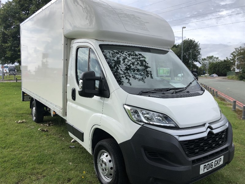 used Citroen Relay 3.5T 14ft Luton Van with Tail Lift in walsall