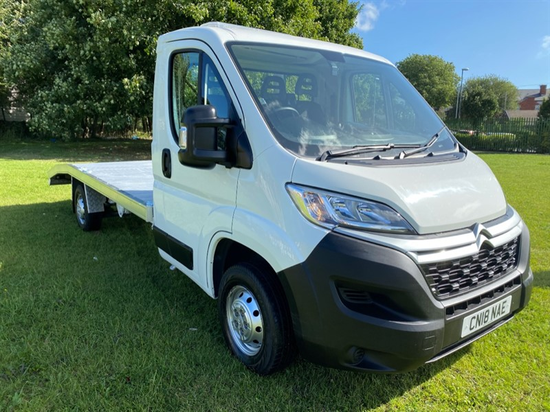 used Citroen Relay 35 3.5t 2.2Hdi 130ps Recovery Vehicle Transporter Only 40651 Miles, New Body, Top Spec. in walsall