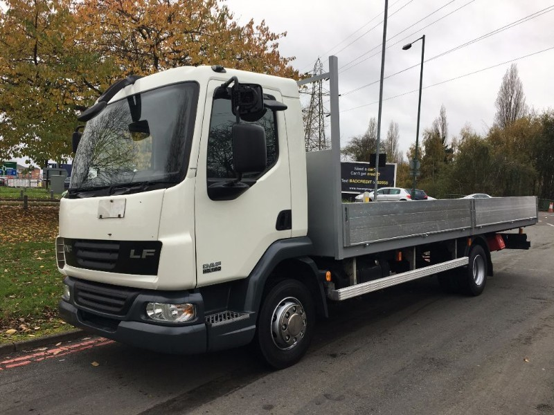 used DAF LF45 180 21ft 12 Tonne Scaffold Dropside Only 98k Miles  in walsall