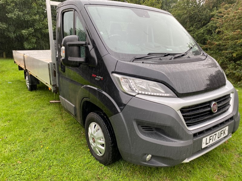 used Fiat Ducato Fiat Ducato 35 3.5t. Euro 6 150bhp Extra Long 19ft Dropside Air Con., Cruise in walsall