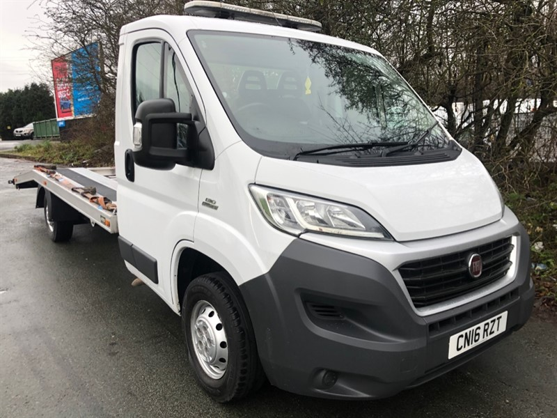used Fiat Ducato recovery truck AMS body Air suspension in walsall