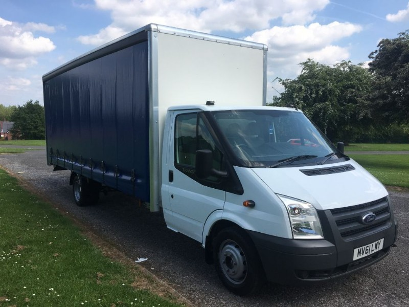 used Ford Transit 3.5T 20ft 6m Curtain Side 20FT *New Body* in walsall