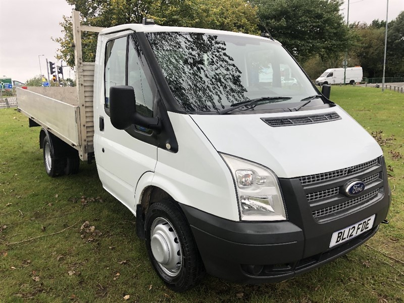 used Ford Transit 350 3.5T 13ft Dropside, Only 38140 Miles From New in walsall