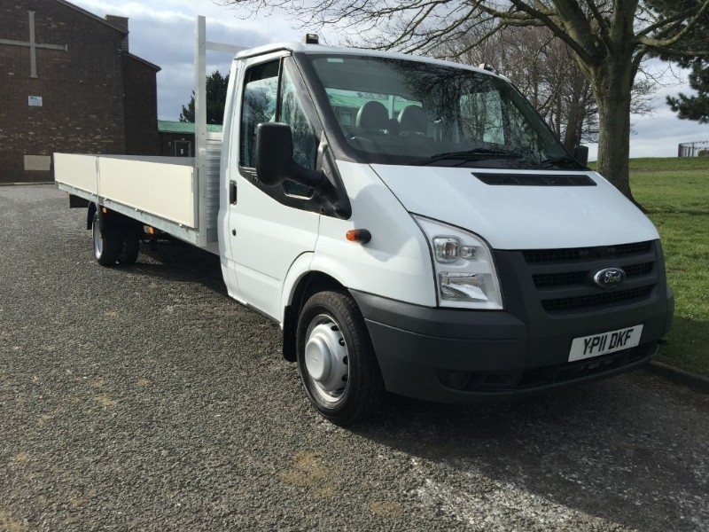 used Ford Transit T350 3.5T. Extra Long 20ft (6m) Dropside in walsall