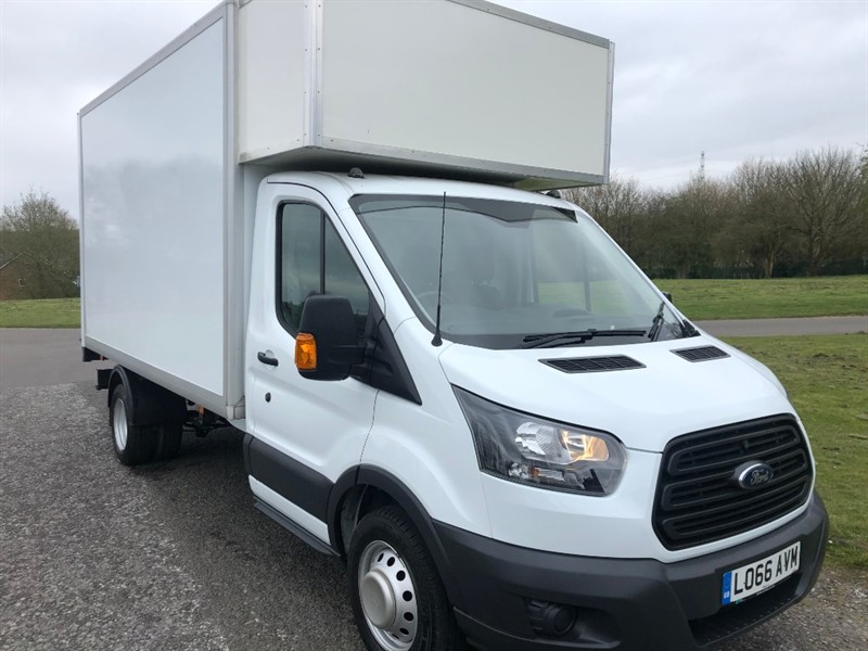 used Ford Transit 350 3.5T 155ps Euro 6 Luton Van Tail Lift, Only 11818 Miles From New in walsall