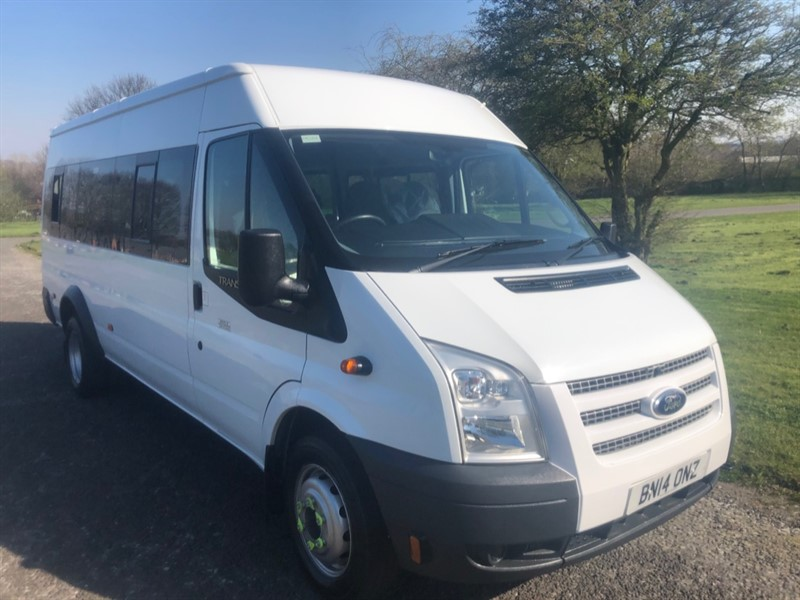 used Ford Transit 430 2.2Tdci 135ps Lwb 17 Seater Minibus, 1 Owner Very Clean in walsall