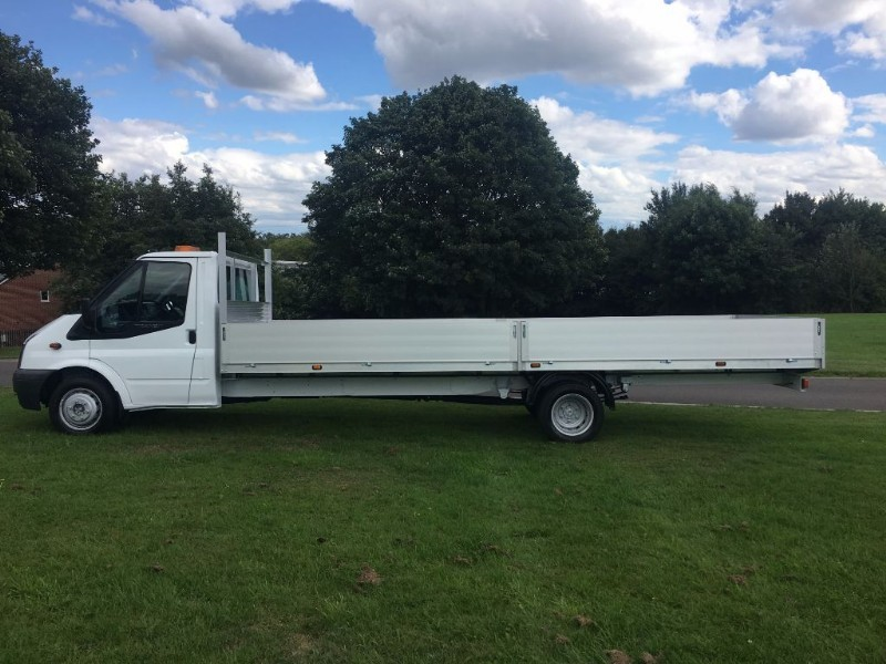 used Ford Transit T350 3.5T. XLWB 20ft Dropside 1 Owner 2012 in walsall