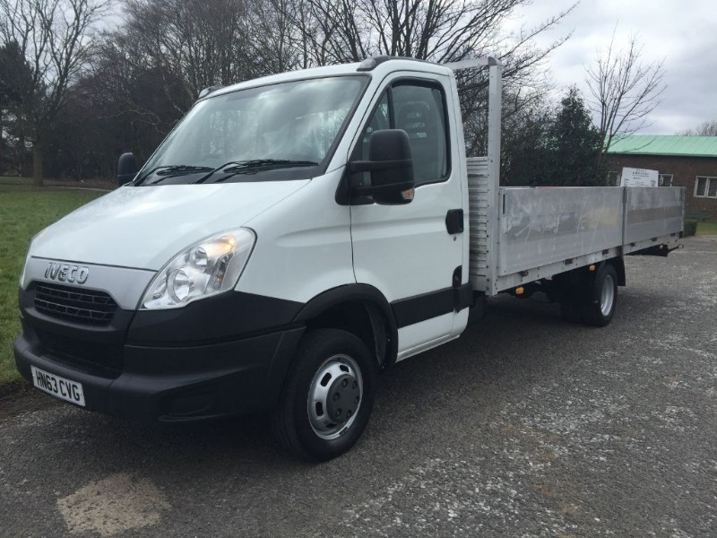 used Iveco Daily 35C13 4100 XLWB Extra Long 19ft Dropside in walsall