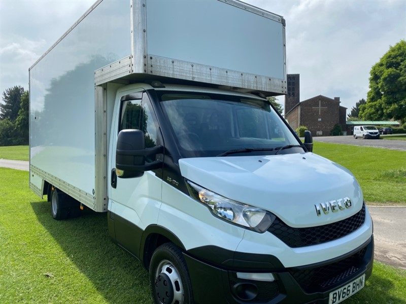 used Iveco Daily Iveco Daily 35C17 3.0L.170bhp 3.5T 16ft Dropwell Luton Furniture Removal Van in walsall