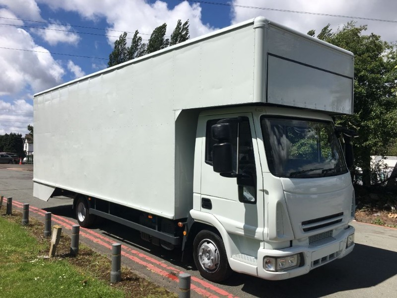 used Iveco Euro Iveco Euro Cargo 75E16 1650cuft 24Ft Dropwell Luton in walsall
