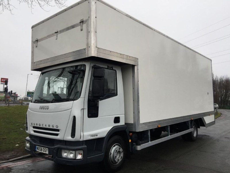 used Iveco Euro Cargo 75E16 7.5T 24Ft New Dropwell Luton in walsall