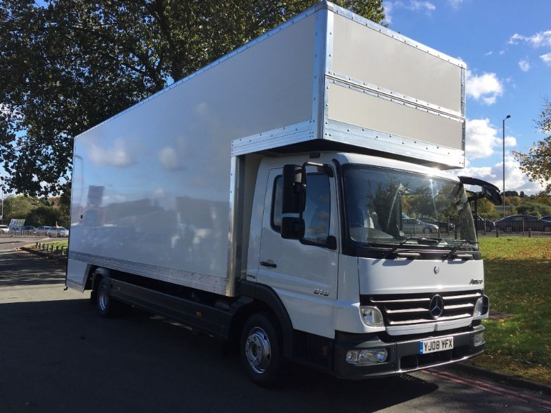 used Mercedes Atego 816 24FT DROPWELL LUTON  Furniture Removal Van *New Body* in walsall