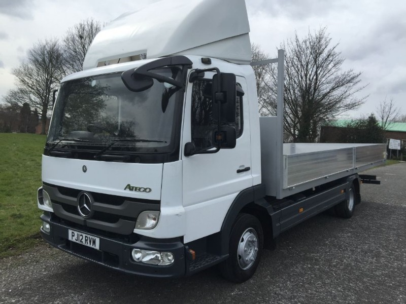 used Mercedes Atego 816 7.5 Tonne GVW 21ft Scaffold Dropside in walsall