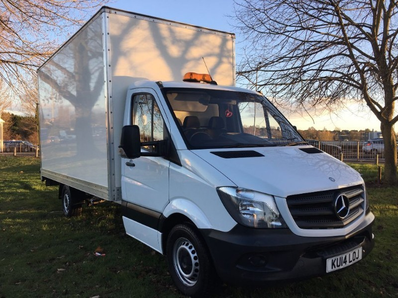 used Mercedes Sprinter 313Cdi 3.5T 15ft Luton Box Van Tail Lift in walsall