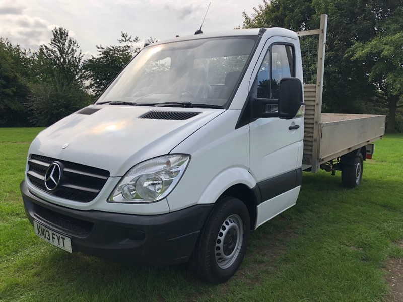 used Mercedes Sprinter 313Cdi 3.5T 14ft Dropside Only 54055 Miles From New in walsall