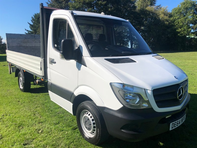 used Mercedes Sprinter 313Cdi 3.5T 11ft Dropside, Only 12356 Miles From New in walsall