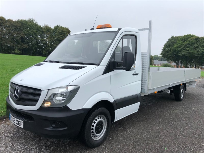 used Mercedes Sprinter 313 CDI 3.5T **EXTRA LONG ** 20ft Dropside in walsall