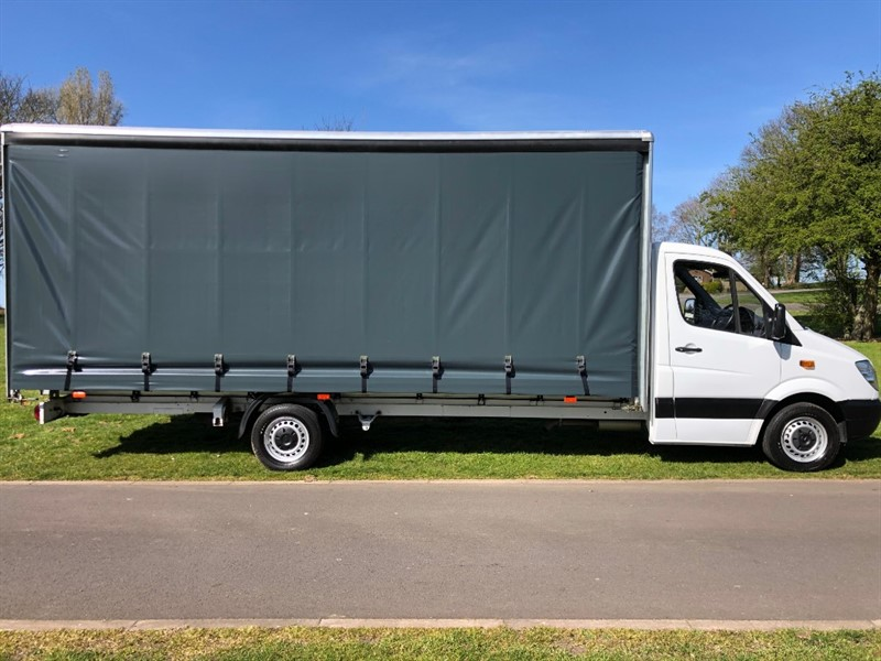 used Mercedes Sprinter 313Cdi 3.5T **Extra Long** 20ft (6m) Curtainside, New Body in walsall