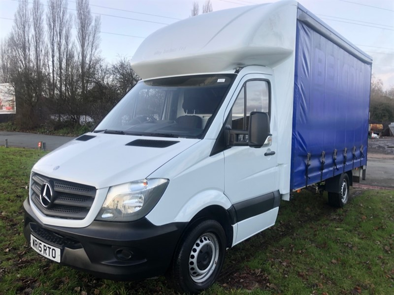 used Mercedes Sprinter 313 CDI 14ft Curtain Side, 1 Owner, Nice Condition in walsall