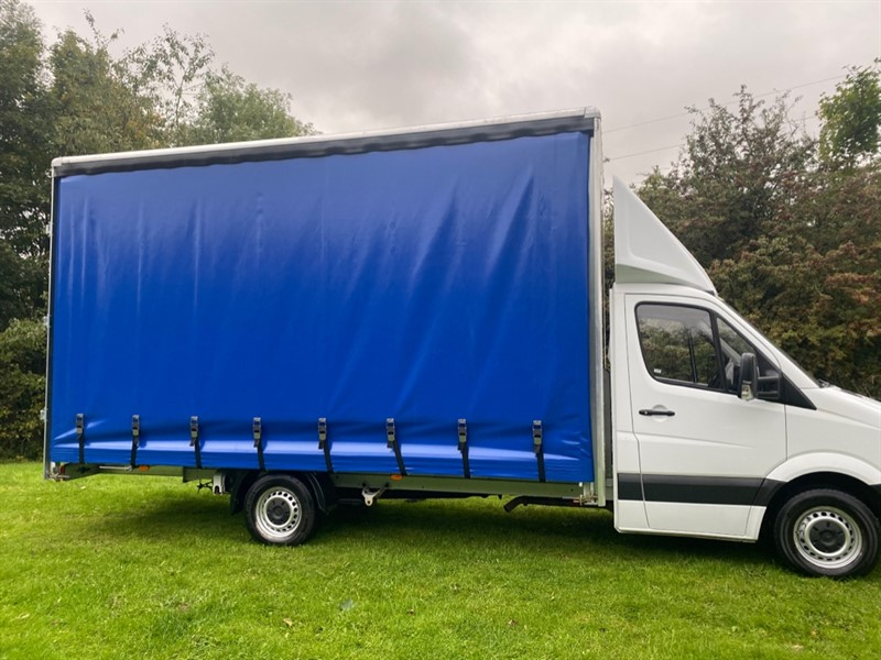 used Mercedes Sprinter 314Cdi 3.5t. New 17ft x 9ft High Curtain Side/Luton Body, Euro 6 in walsall