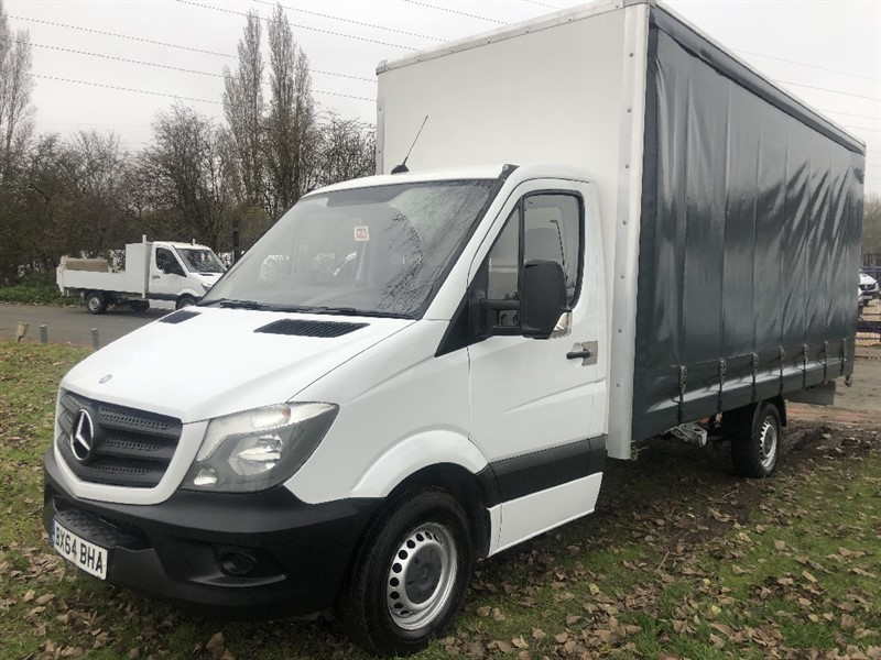 used Mercedes Sprinter 313Cdi 3.5T.**NEW** 17ft Curtainside Body in walsall