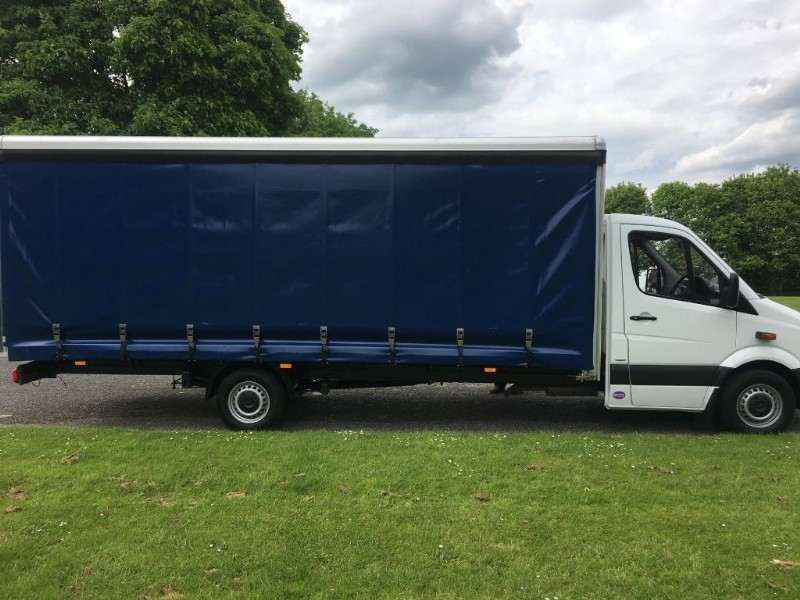 used Mercedes Sprinter Mercedes Sprinter 313 3.5T 20ft 6m Curtain Side *New Body*20FT in walsall