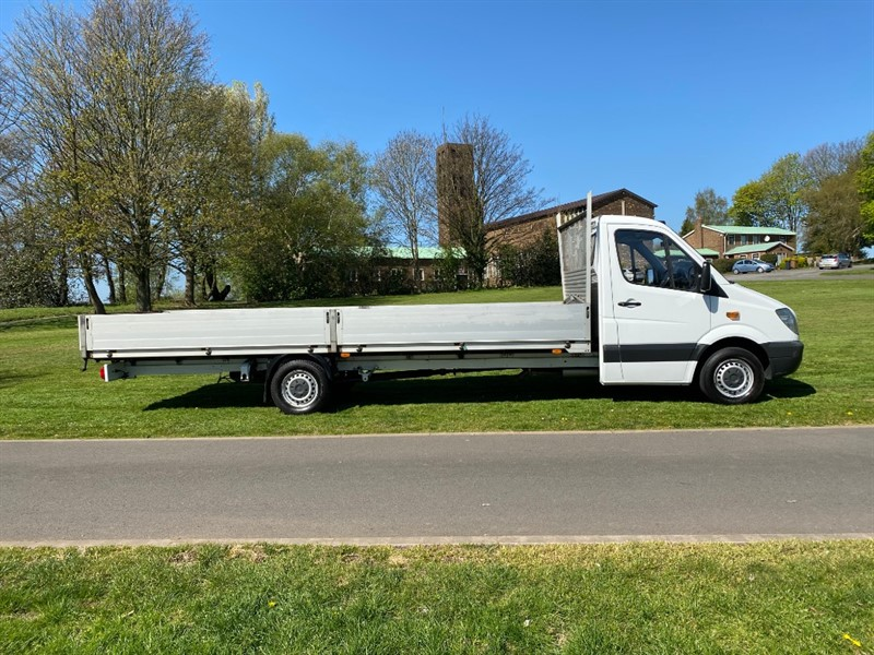 used Mercedes Sprinter 313Cdi 3.5T 20ft. (6m.) Extra Long Dropside in walsall