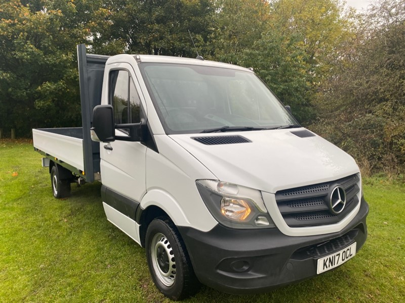 used Mercedes Sprinter 314Cdi 3.5t Euro 6 14ft (4m.) Dropside 1 Owner, Very Clean in walsall