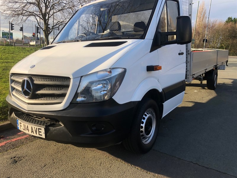 used Mercedes Sprinter 313Cdi 3.5t Extra Long 20ft (6m) Dropside in walsall